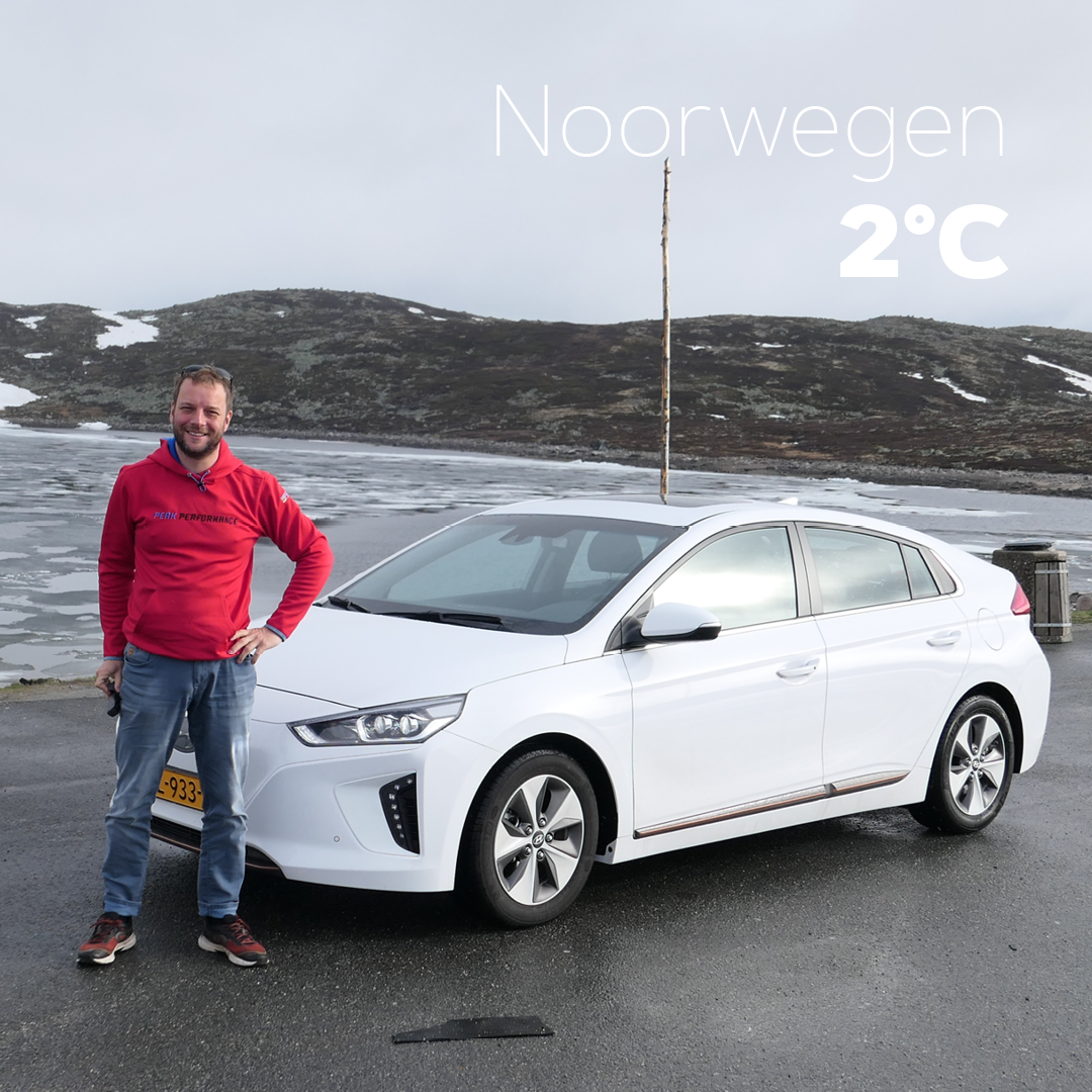 Efficient rijden over de Hardangervidda