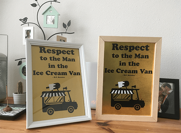 respect to the man - voorbeeld werk met marge